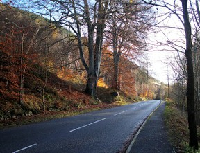 Image: B8079 Through the Pass of Killiecrankie