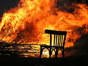 Image: Chair Fire