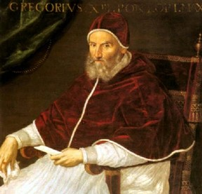 Pope Gregory XIII decided it was time to change the calendars