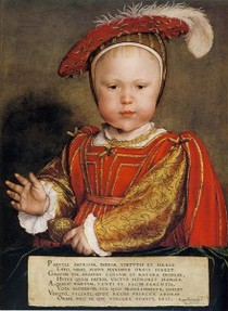 King Edward VI as a baby