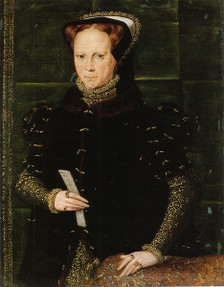 Mary I kept her Cathollic views despite threats from Edward VI