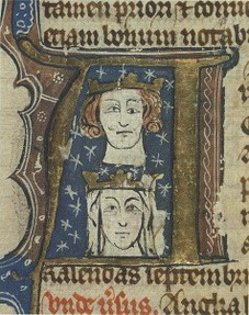 Manuscript of Edward I and Eleanor of Castile