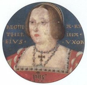 Miniature of Catherine of Aragon