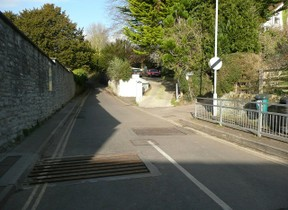 Image: Wellhouse Lane, Glastonbury