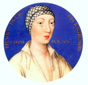 Henry FitzRoy was the illegitimate child of Henry VIII