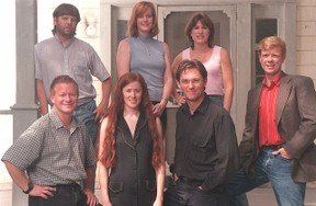 Image: The Walton children in 2002.