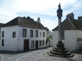Image: Mercat in Culross