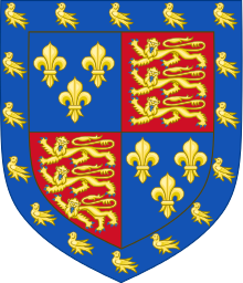 Jasper Tudor's coat of arms