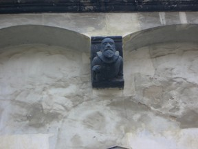 Gargoyles on old Buildings in Gorlitz