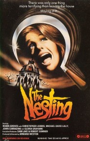 "Original poster for ""The Nesting"" (1981)"