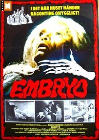 "The Swedish poster for ""Embryo"" (1976)"