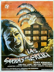 "Spanish poster for ""The Loreley's Grasp"" (1974)"