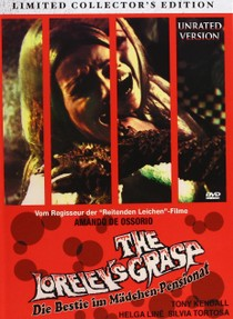 "DVD art for ""The Loreley's Grasp"" (1974)"