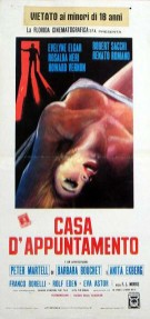 "Italian poster for ""The French Sex Murders"" (1972)"