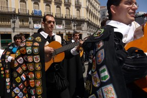 Student Procession in Madrid