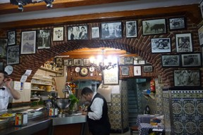 Famous Bar in Madrid frequented by Bullfighters