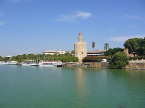 Torre del Oro on the Quadalquiver River