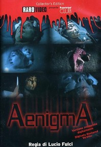 DVD sleeve for Aenigma (1987)