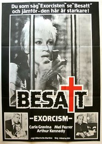 Swedish poster for The Antichrist (1974)