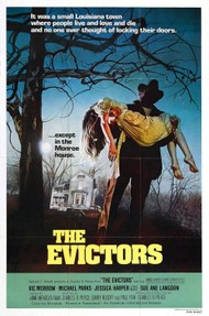 Original poster for The Evictors (1979)