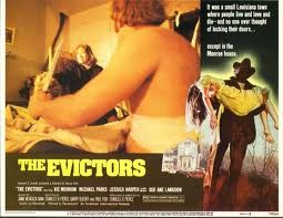Lobby card for The Evictors (1979)