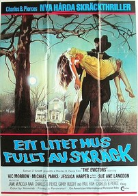 The Swedish poster for The Evictors (1979)