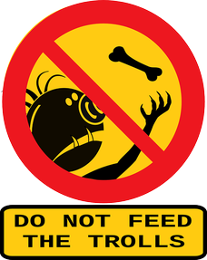 Image: Do Not Feed the Trolls