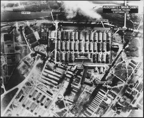 Image: Ariel View of Auschwitz I