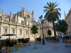By The Cathedral, Seville