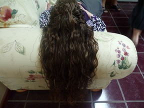 Image: Long Curly Hair