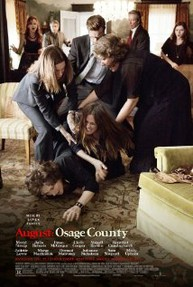 August: Osage County. Movie review with very few spoilers.