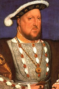 Henry VIII died on January 28, 1547 at the age of 55