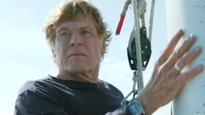 Image: Robert Redford in All is Lost