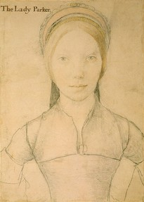 A drawing thought to be Lady Jane Boleyn