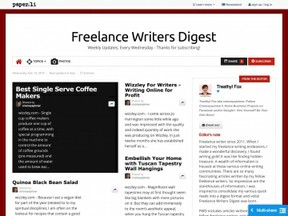 Freelance Writers Digest