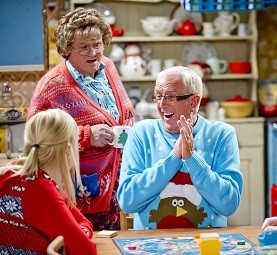 Image: Mrs Brown, Cathy and Rory
