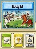 Image: Knight card from Settlers of Catan