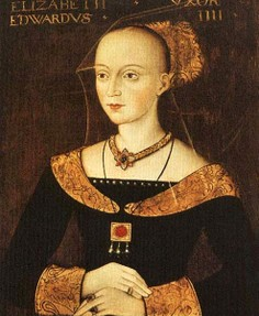 Elizabeth Woodville is buried with Edward, but there are other bodies in there.