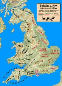 Image: Britain in 540CE
