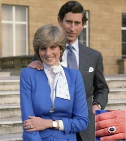 Image: Prince Charles and Lady Diana Engagement Picture