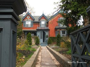 My favorite home in Cabbagetown, Toronto