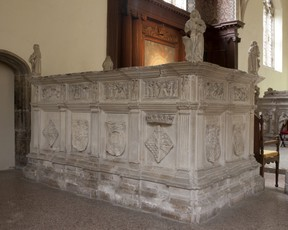 Henry Fitzroy's monument in Framlingham, Suffolk