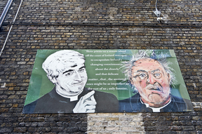 Image: Father Ted Dublin Mural by William Murphy