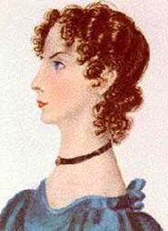 Anne Bronte Painted by Charlotte