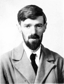 D.H. Lawrence, author