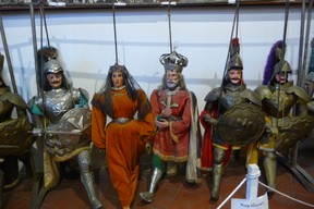 The famous Sicilian Puppets