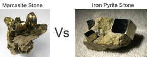 Marcasite Stone vs Iron Pyrite