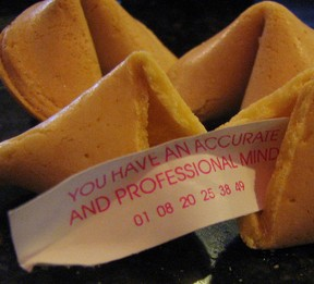fortune cookie and saying