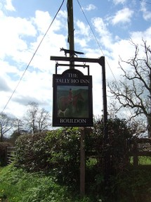 Tally Ho pub sign