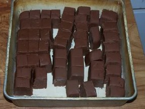 pan of fudge